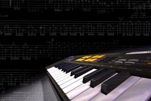 3D Keyboard Music Synthesizer