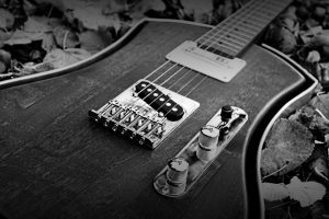 An Old Electric Guitar