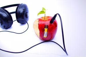 Apple And Headphones