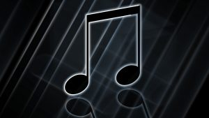 Black Music Note