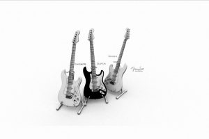 Blackmore Clapton Hendrix Guitars