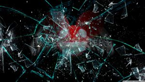 Broken Glass Deadmau5