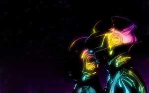 Daft Punk Abstract