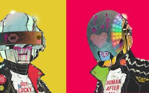 Daft Punk Zombies Hats Art
