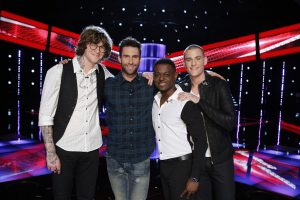Damien Lawson The Voice Finale Singer