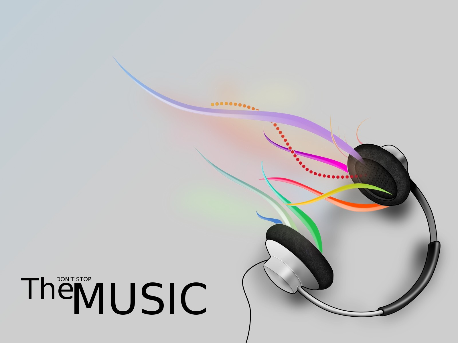 Don't Stop The Music Wallpaper 1600x1200 px