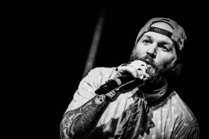 Fred Durst Limp Bizkit Music Rapcore Black And White