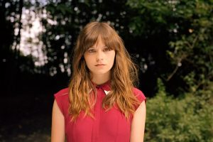 Gabrielle Aplin Photo Shoot Singer Dress