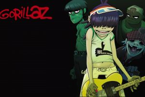 Gorillaz Hand With The Rising Thumb