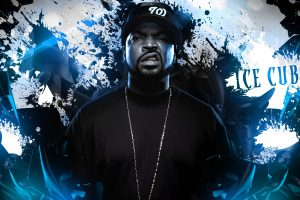 Ice Cube Rapper Musician Abstraction