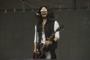 Jared Leto 50 Seconds To Mars Performance