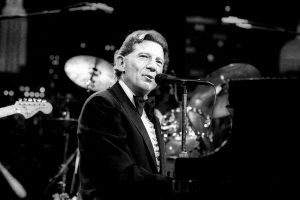 Jerry Lee Lewis Singer Pianist Composer Bw