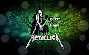 Metallica Guitarist Robert Trujillo Graphics