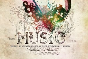 Music Gives A Soul To Universe