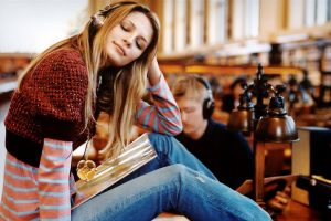 Music In Library