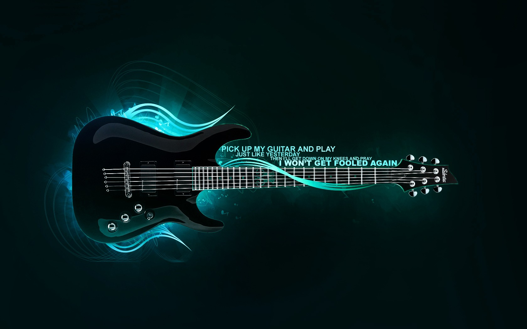 Pick Up My Guitar And Play Wallpaper 1680x1050 px
