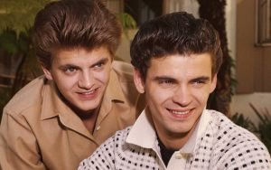 The Everly Brothers Duo Don Everly Phil Everly