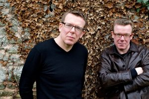 The Proclaimers Leaves Glasses Jacket Hands