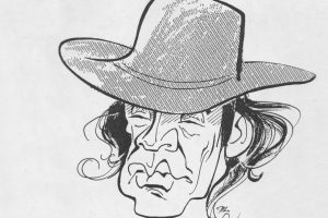Udo Lindenberg Picture Hat Face Hair