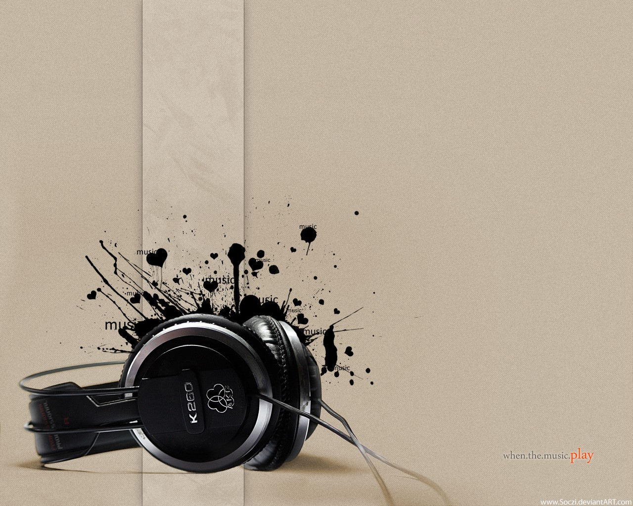 When The Music Play Wallpaper 1280x1024 px