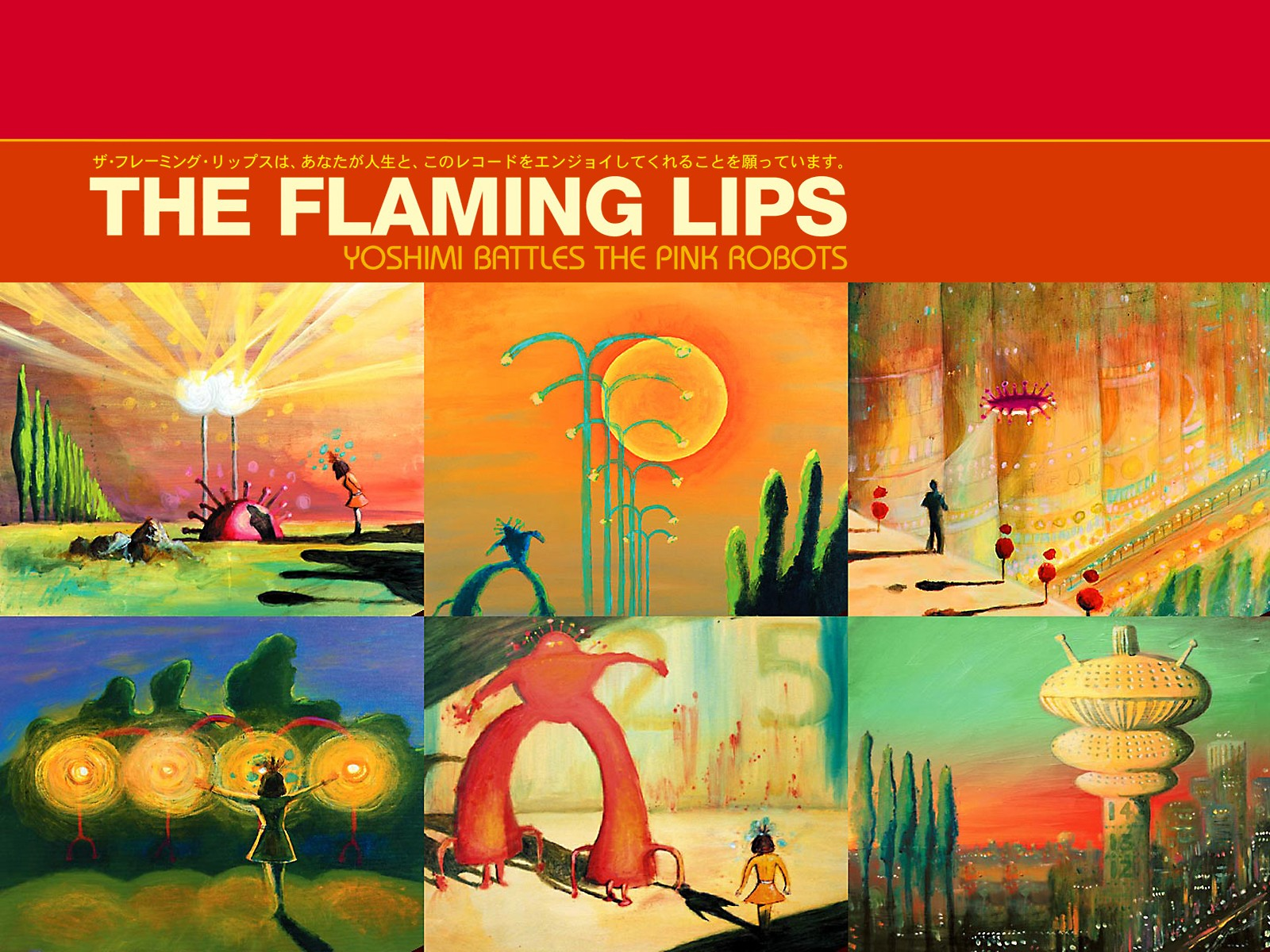 Yoshimi Battles The Pink Robots – The Flaming Lips Wallpaper 1600x1200 px